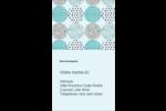 Cercles urbains bleus Carte d'affaire - gabarit prédéfini. <br/>Utilisez notre logiciel Avery Design & Print Online pour personnaliser facilement la conception.