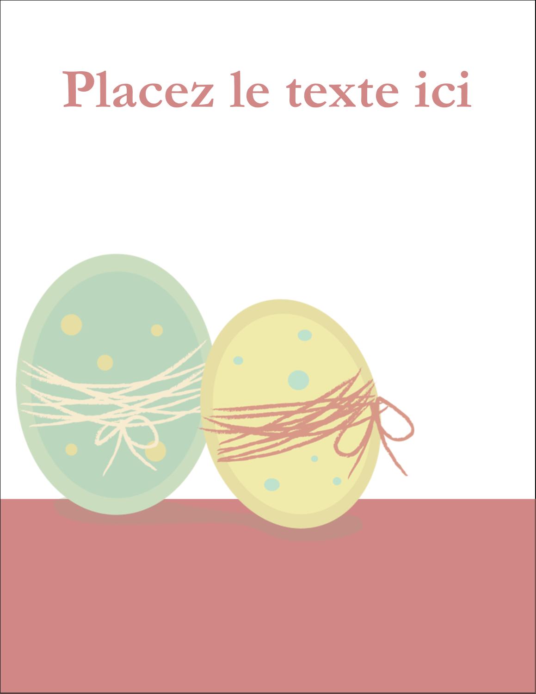 "5½"" x 4¼"" Carte Postale - Œufs jumeaux"