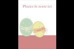 Œufs jumeaux Carte Postale - gabarit prédéfini. <br/>Utilisez notre logiciel Avery Design & Print Online pour personnaliser facilement la conception.