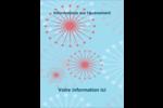 Célébration simple Carte Postale - gabarit prédéfini. <br/>Utilisez notre logiciel Avery Design & Print Online pour personnaliser facilement la conception.