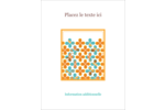 Motif fleuri Carte Postale - gabarit prédéfini. <br/>Utilisez notre logiciel Avery Design & Print Online pour personnaliser facilement la conception.