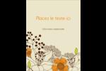 Illustrations florales Carte Postale - gabarit prédéfini. <br/>Utilisez notre logiciel Avery Design & Print Online pour personnaliser facilement la conception.