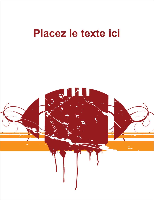 """5½"""" x 4¼"""" Carte Postale - Football débraillée"""