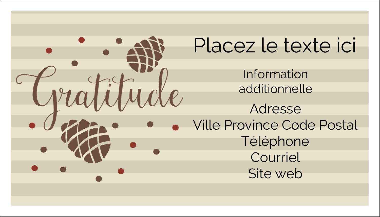 """3"""" x 5"""" Cartes Pour Le Bureau - Gratitude"""