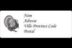Dinde traditionnelle de l'Action de grâces Étiquettes D'Adresse - gabarit prédéfini. <br/>Utilisez notre logiciel Avery Design & Print Online pour personnaliser facilement la conception.