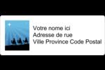 Trois rois mages Étiquettes D'Adresse - gabarit prédéfini. <br/>Utilisez notre logiciel Avery Design & Print Online pour personnaliser facilement la conception.