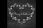 L'amour en tableau Étiquettes rondes - gabarit prédéfini. <br/>Utilisez notre logiciel Avery Design & Print Online pour personnaliser facilement la conception.