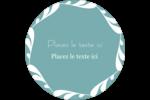 Filigrane Étiquettes rondes - gabarit prédéfini. <br/>Utilisez notre logiciel Avery Design & Print Online pour personnaliser facilement la conception.
