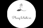 L'amour en tableau Étiquettes arrondies - gabarit prédéfini. <br/>Utilisez notre logiciel Avery Design & Print Online pour personnaliser facilement la conception.