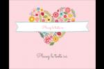 Cœurs et fleurs Étiquettes rondes gaufrées - gabarit prédéfini. <br/>Utilisez notre logiciel Avery Design & Print Online pour personnaliser facilement la conception.