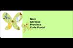 Deux papillons Étiquettes D'Adresse - gabarit prédéfini. <br/>Utilisez notre logiciel Avery Design & Print Online pour personnaliser facilement la conception.