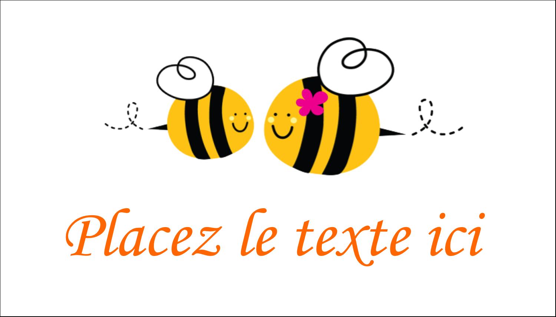 """2"""" x 3½"""" Carte d'affaire - Maman abeille"""