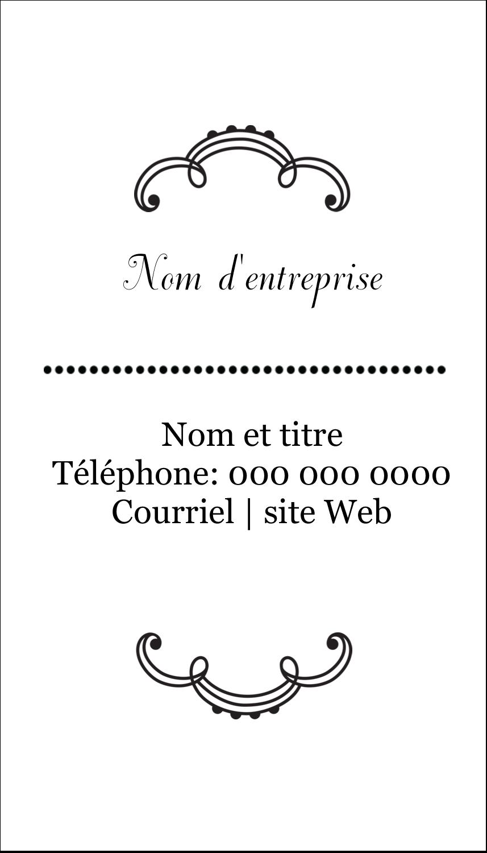 """2"""" x 3½"""" Carte d'affaire - Le mariage fantaisiste de Martha Stewart"""