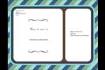 Le mariage fantaisiste de Martha Stewart Carte Postale - gabarit prédéfini. <br/>Utilisez notre logiciel Avery Design & Print Online pour personnaliser facilement la conception.