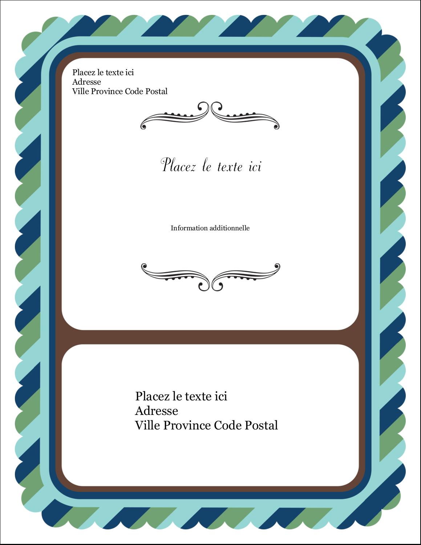 "5½"" x 4¼"" Carte Postale - Le mariage fantaisiste de Martha Stewart"