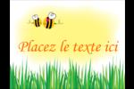 Maman abeille Carte Postale - gabarit prédéfini. <br/>Utilisez notre logiciel Avery Design & Print Online pour personnaliser facilement la conception.