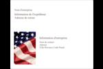 Droit patriotique Étiquettes d'expédition - gabarit prédéfini. <br/>Utilisez notre logiciel Avery Design & Print Online pour personnaliser facilement la conception.