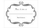 Le mariage fantaisiste de Martha Stewart Étiquettes d'expédition - gabarit prédéfini. <br/>Utilisez notre logiciel Avery Design & Print Online pour personnaliser facilement la conception.