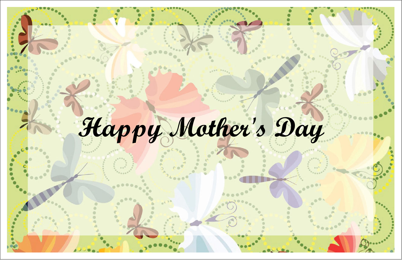 "5½"" x 8½"" Greeting Card - Pair of Butterflies"
