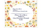 Add a big helping of fun to projects with pre-designed Thanksgiving Feast templates.