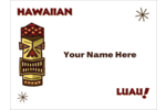 Hula over here and customize your Hawaiian party invites (and more!) with our Luau template.