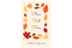 Add fall beauty to custom projects with pre-designed Thanksgiving Leafy templates.