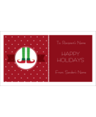 Put Santa's helpers to work on your custom project with pre-designed Elf Feet templates.