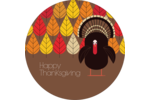 Add a quintessential-fall feel to projects with pre-designed Fall Turkey templates.