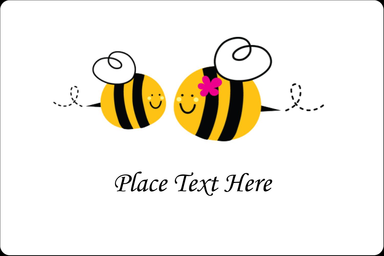 "2"" x 3"" Rectangular Label - Mother Bees"
