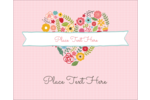 Mom's heart will blossom with love with this colourful heart-shaped flower collage!