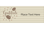 Add grace to custom projects with pre-designed Thanksgiving Gratitude templates.