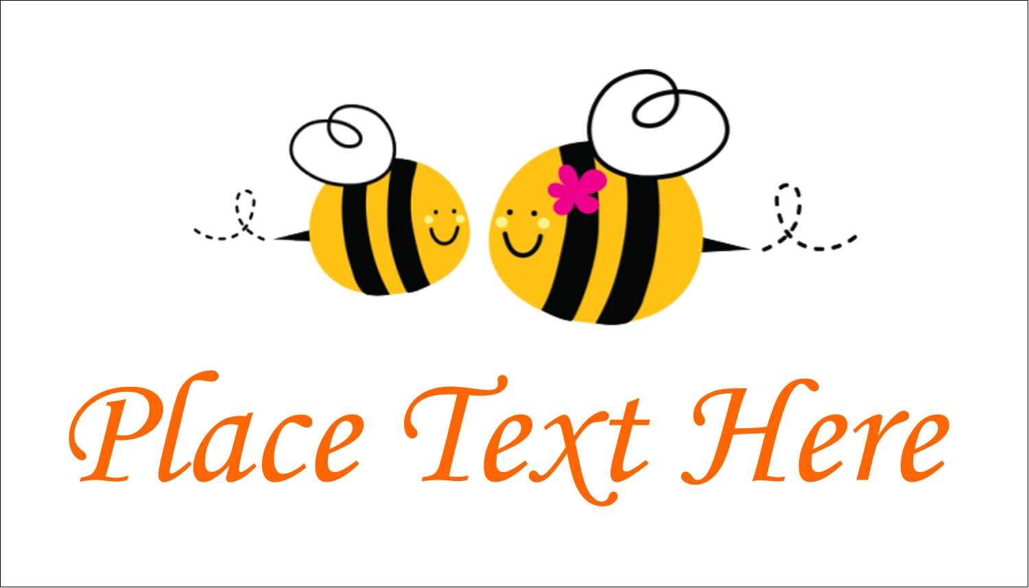 "2"" x 3½"" Business Card - Mother Bees"