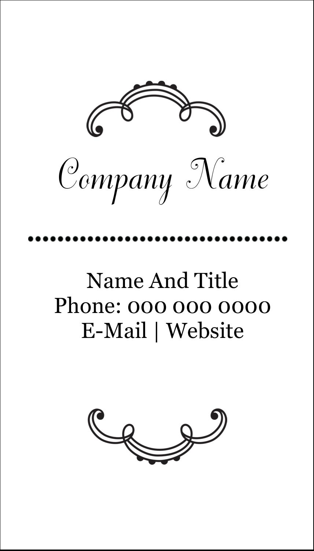 "3½"" x 2"" Business Card - Martha Stewart's Whimsical Wedding"