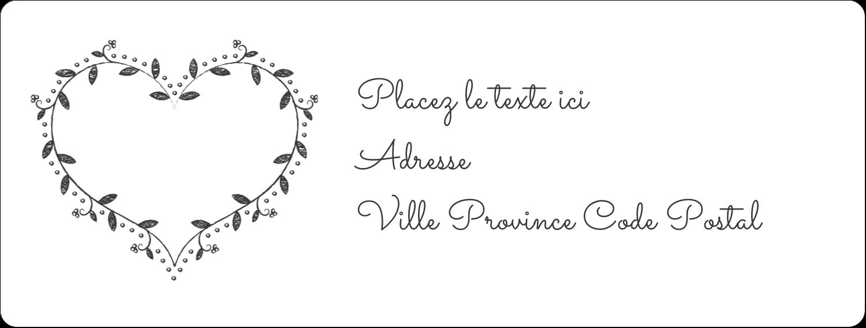 L'amour en tableau Étiquettes d'adresse - gabarit prédéfini. <br/>Utilisez notre logiciel Avery Design & Print Online pour personnaliser facilement la conception.