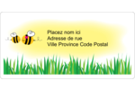 Maman abeille Étiquettes d'expédition - gabarit prédéfini. <br/>Utilisez notre logiciel Avery Design & Print Online pour personnaliser facilement la conception.