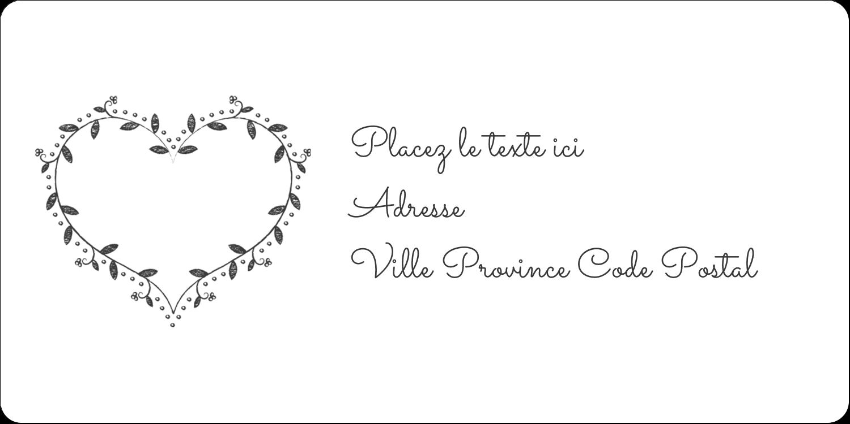 L'amour en tableau Étiquettes de classement écologiques - gabarit prédéfini. <br/>Utilisez notre logiciel Avery Design & Print Online pour personnaliser facilement la conception.