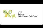 Deux papillons Étiquettes d'expédition - gabarit prédéfini. <br/>Utilisez notre logiciel Avery Design & Print Online pour personnaliser facilement la conception.