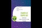 Fête d'extraterrestres Étiquettes D'Adresse - gabarit prédéfini. <br/>Utilisez notre logiciel Avery Design & Print Online pour personnaliser facilement la conception.