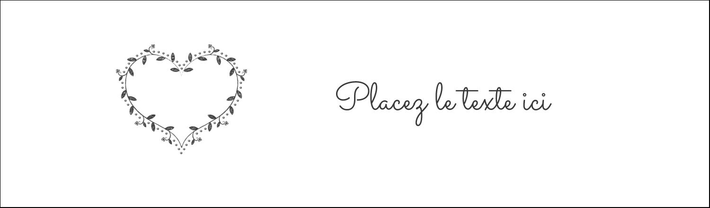 L'amour en tableau Affichette - gabarit prédéfini. <br/>Utilisez notre logiciel Avery Design & Print Online pour personnaliser facilement la conception.