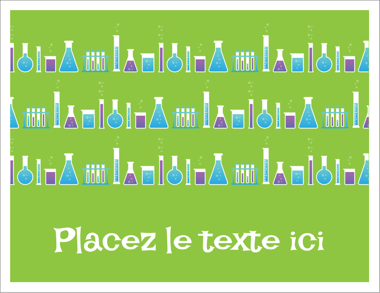 """8½"""" x 11"""" Cartes Et Articles D'Artisanat Imprimables - Célébration de savant fou"""
