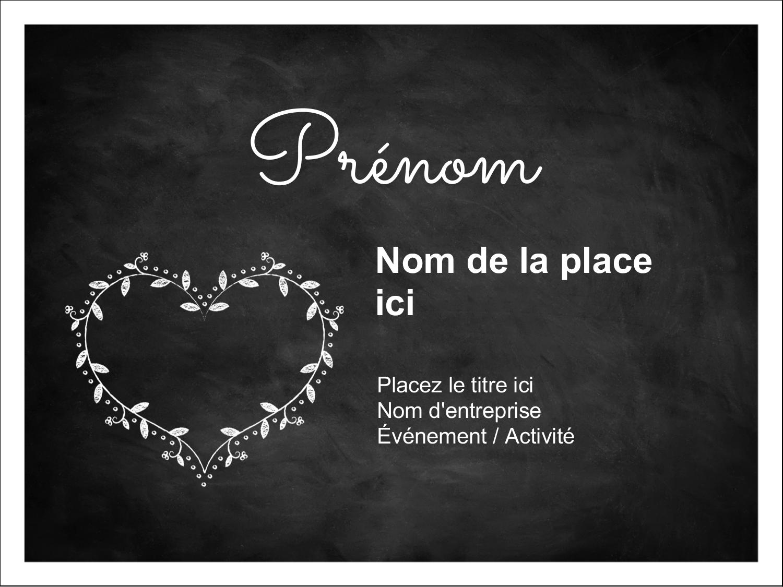 L'amour en tableau Badges - gabarit prédéfini. <br/>Utilisez notre logiciel Avery Design & Print Online pour personnaliser facilement la conception.