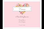 Cœurs et fleurs Badges - gabarit prédéfini. <br/>Utilisez notre logiciel Avery Design & Print Online pour personnaliser facilement la conception.