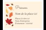 Feuilles de l'Action de grâces Badges - gabarit prédéfini. <br/>Utilisez notre logiciel Avery Design & Print Online pour personnaliser facilement la conception.