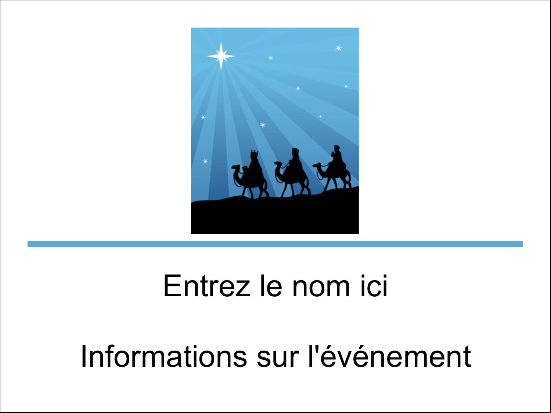"""3"""" x 4"""" Badges - Trois rois mages"""