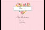 Cœurs et fleurs Étiquettes à codage couleur - gabarit prédéfini. <br/>Utilisez notre logiciel Avery Design & Print Online pour personnaliser facilement la conception.