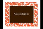 Canevas de l'Action de grâce Étiquettes d'expéditions - gabarit prédéfini. <br/>Utilisez notre logiciel Avery Design & Print Online pour personnaliser facilement la conception.
