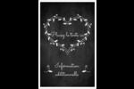 L'amour en tableau Reliures - gabarit prédéfini. <br/>Utilisez notre logiciel Avery Design & Print Online pour personnaliser facilement la conception.
