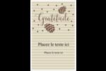 Gratitude Reliures - gabarit prédéfini. <br/>Utilisez notre logiciel Avery Design & Print Online pour personnaliser facilement la conception.
