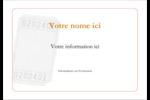 Billet Étiquettes badges autocollants - gabarit prédéfini. <br/>Utilisez notre logiciel Avery Design & Print Online pour personnaliser facilement la conception.