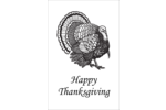 Add artistic style to projects with pre-designed Thanksgiving Vintage Turkey templates.